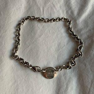6259c6c02 Tiffany & Co. Return to Tiffany choker necklace - oval tag